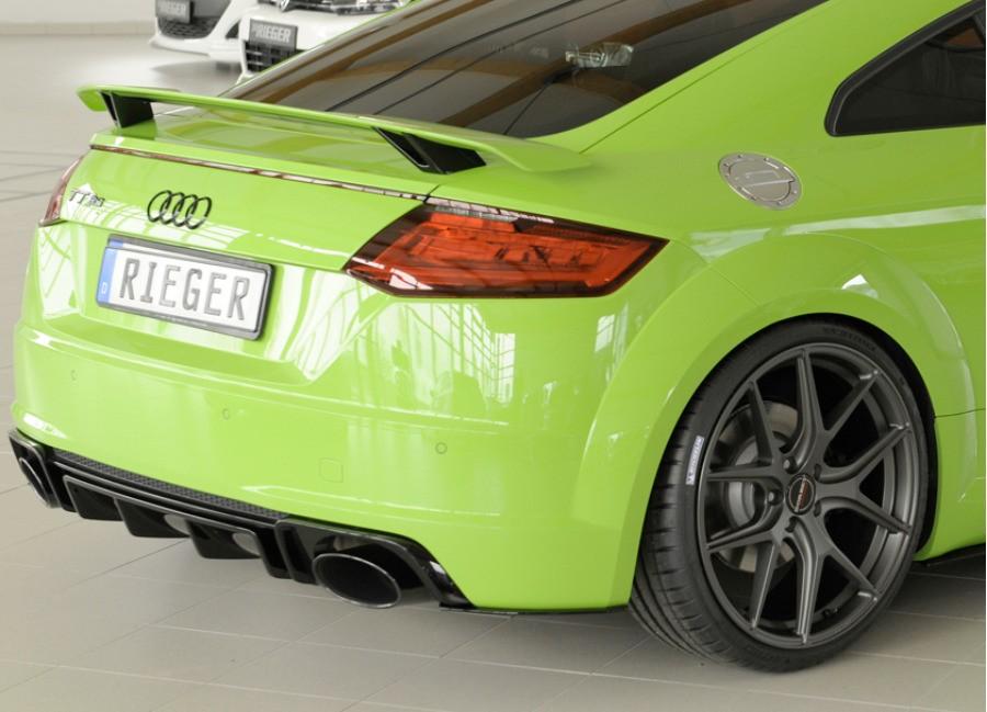 Rieger Tuning lišty pod zadní nárazník pro Audi TT RS (8S ...