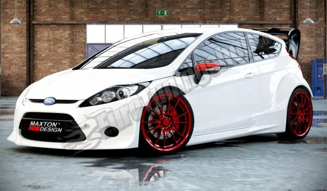 ford fiesta mk7 3dv 08 13 body kit rally tuning. Black Bedroom Furniture Sets. Home Design Ideas