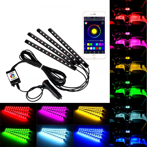 Interierové LED neony MULTICOLOR pro iOS, Android