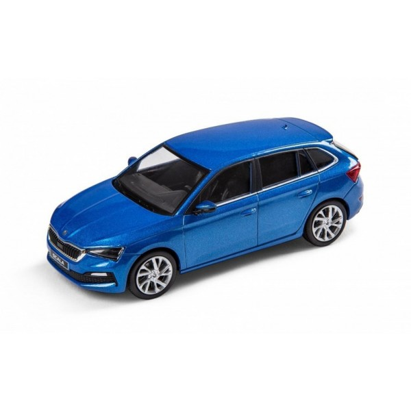 Abrex model 1:43 Škoda Scala Race Blue
