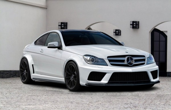 mercedes c klasse w204 amg black series coupe body kit. Black Bedroom Furniture Sets. Home Design Ideas