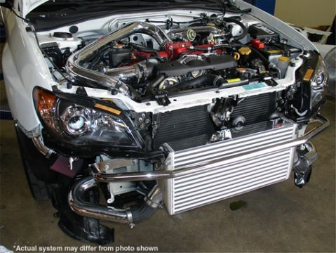 Impreza WRX 06-up (also STI) Injen front mount intercooler w/piping