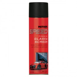 Mothers Speed Foaming Glass & Screen Cleaner - pěnový čistič skel, zrcadel a lesklých povrchů , spre