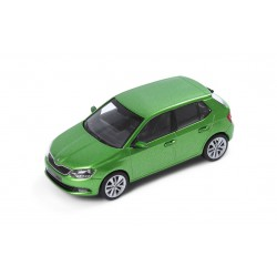 Abrex model 1:43 Škoda Fabia III  RALLY GREEN