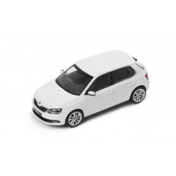Abrex model 1:43 Škoda Fabia III  CANDY WHITE