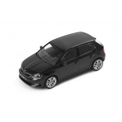 Abrex model 1:43 Škoda Fabia III  BLACK MAGIC
