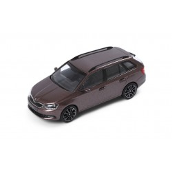 Abrex model 1:43 Škoda Fabia III combi TOPAZ BROWN
