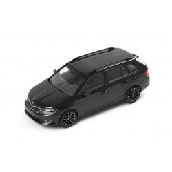 Abrex model 1:43 Škoda Fabia III combi BLACK MAGIC