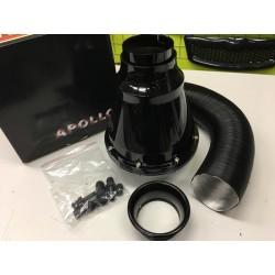 Kvalitní krytý sportovní vzduchový filtr APOLO černý 539c58d96d