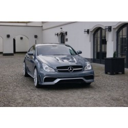 Mercedes CLS W 219 BLACK SERIE - komplet body kit style AMG