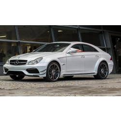 Mercedes CLS W 219 BLACK SERIE XXL - komplet body kit style AMG