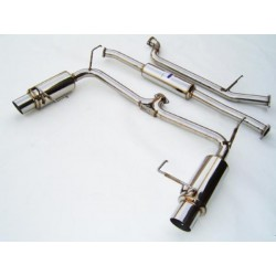 ACCORD Coupe 6V 98-01- Cat back system Dual INVIDIA