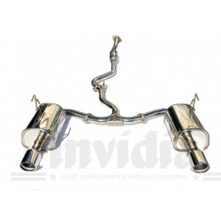 Subaru Levorg 2015- Cat-back exhaust Q300