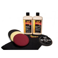 Meguiar's Mirror Glaze Soft Buff Kit 5