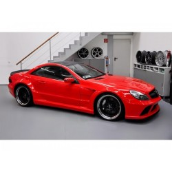 Mercedes SL R230 Fac.- Komplet body kit přestavba na Black Series