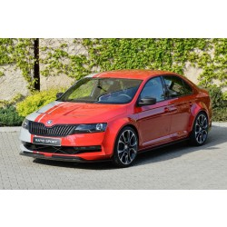 Škoda Rapid  - lišta masky BLACK MAGIC