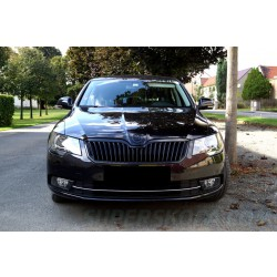 Škoda Superb II facelift 13-15 - maska BLACK MAGIC