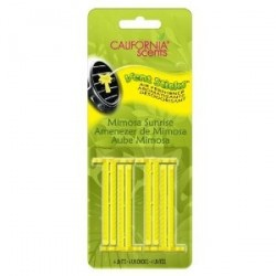 California Scents Vent Sticks vonné tyčinky do výdechu ventilace - Mimosa Sunrise 4ks