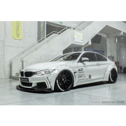 BMW F32 body kit R66 ve stylu Liberty Walk